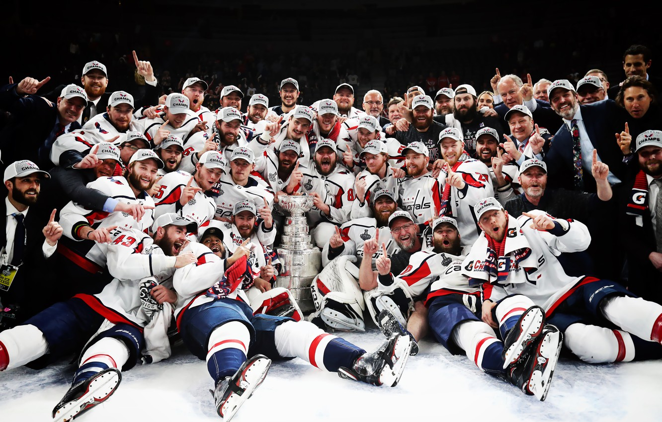 Wallpaper The game Sport Ice Team Washington Ice Victory 1332x850