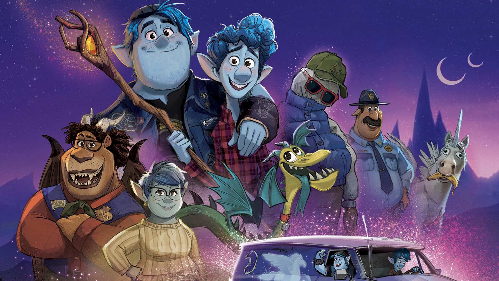 Pixar Onward HD wallpapers   YouLoveItcom 1920x1080