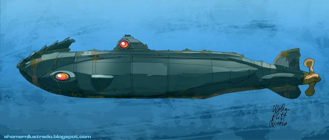 подводная лодка наутилус вас