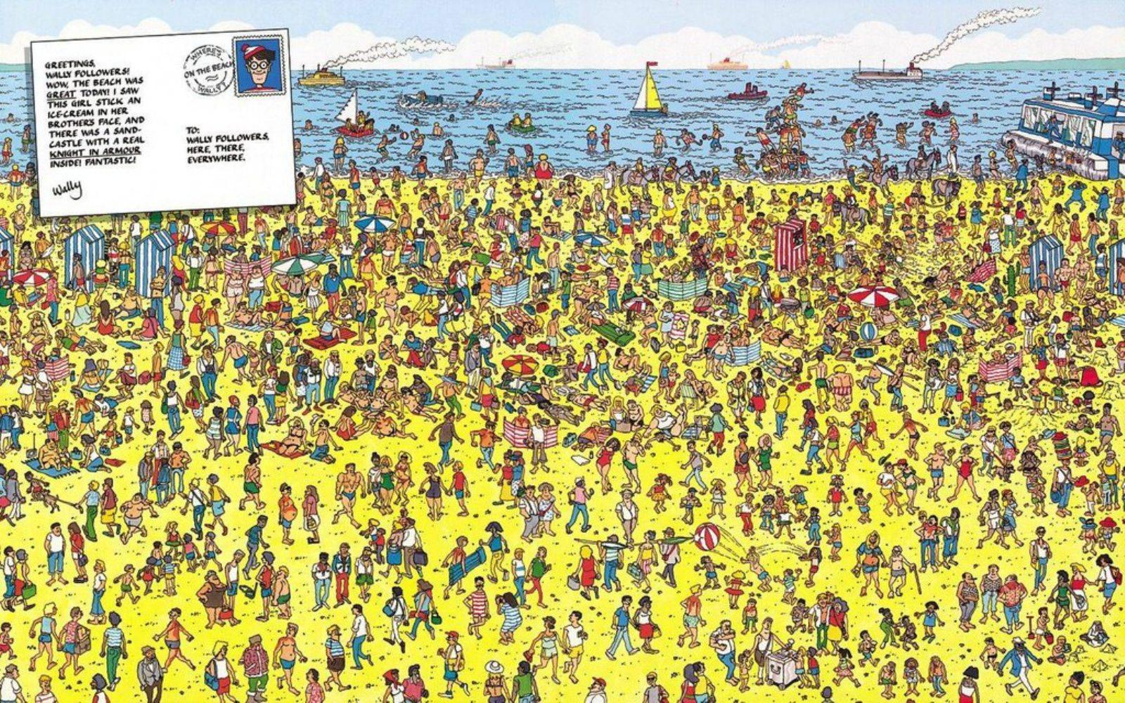 WHERE S WALDO WALLPAPER   67695   HD Wallpapers   [wallpapersinhq 1600x1000