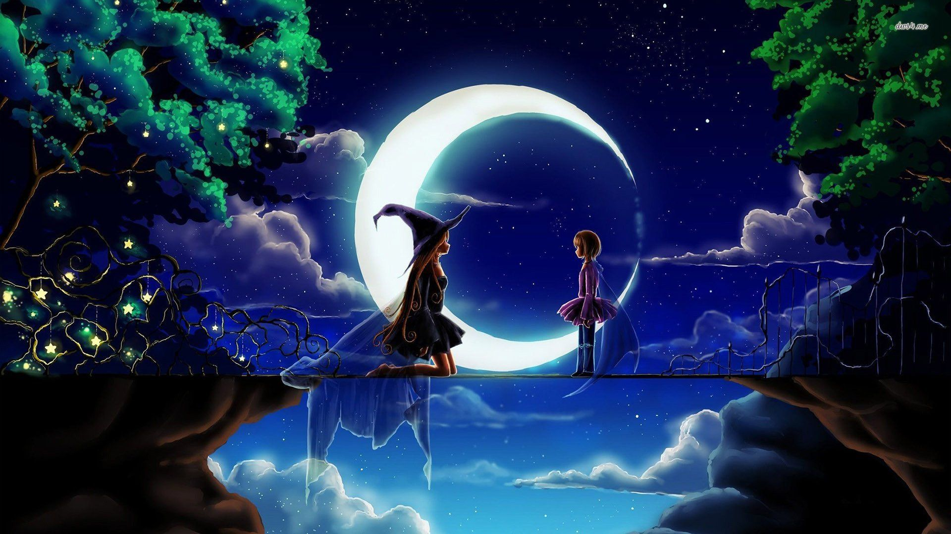 Anime Witch Wallpapers   Top Anime Witch Backgrounds 1920x1080