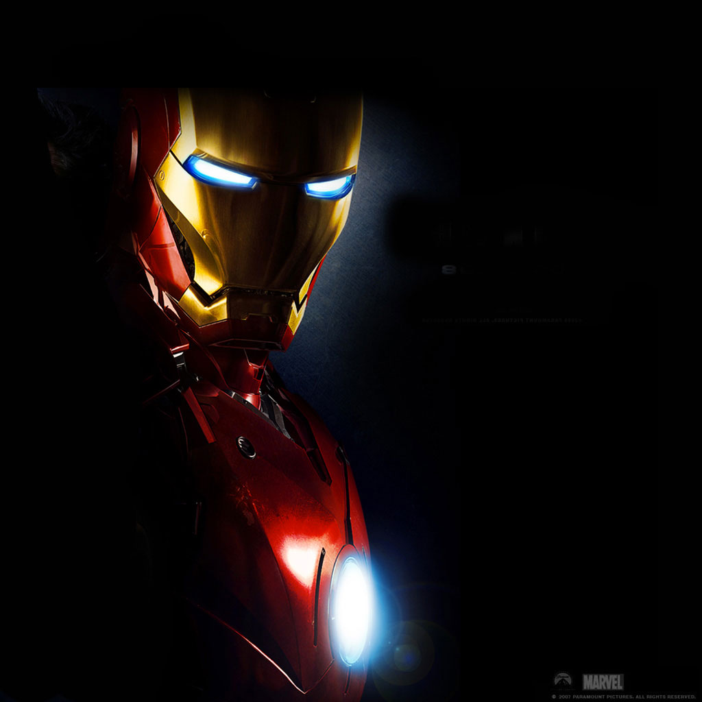 Iron Man 3 iPad wallpapers iPad Retina HD Wallpapers 1024x1024