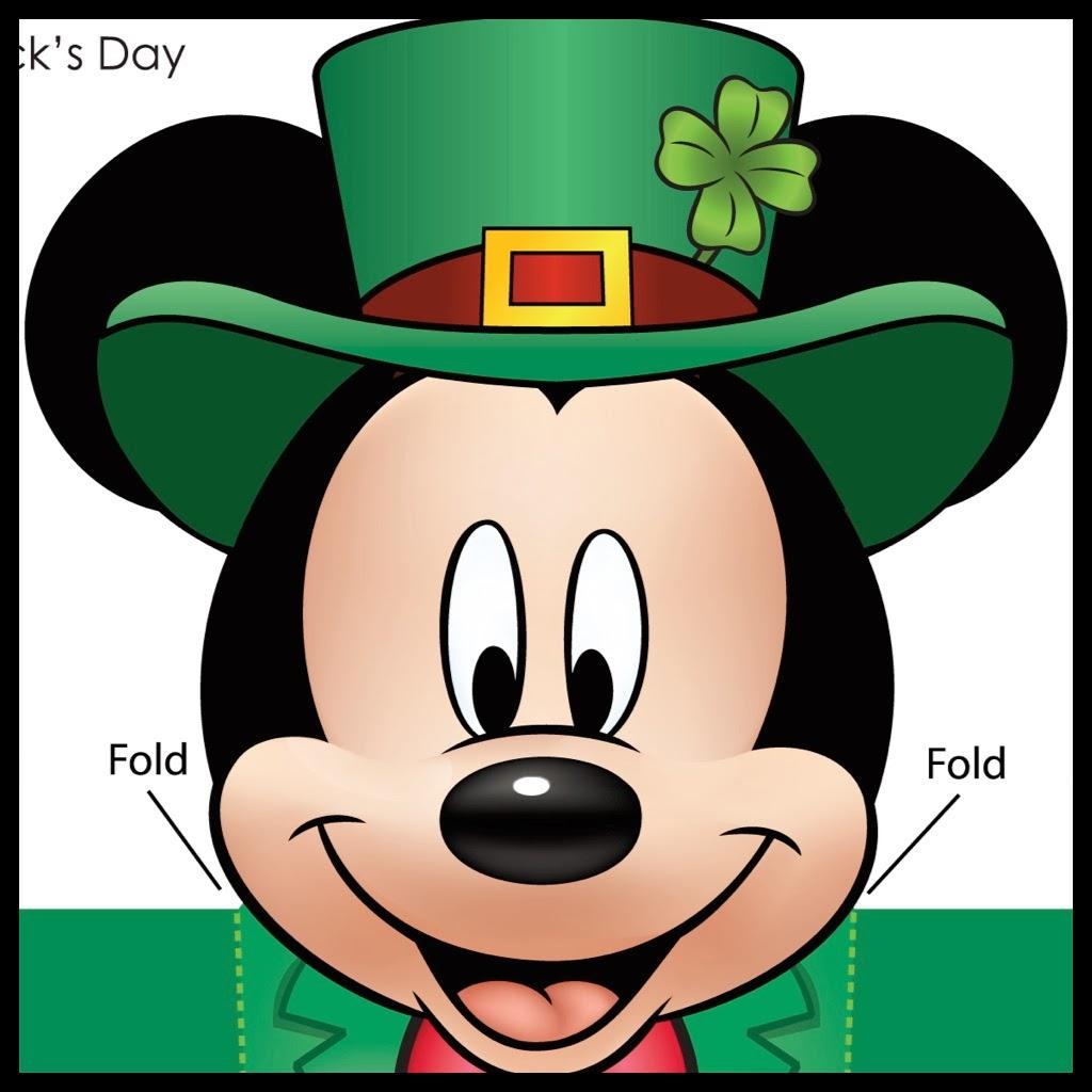 Mickey st patrick 39 s day wallpaper wallpapersafari - Disney st patricks day images ...
