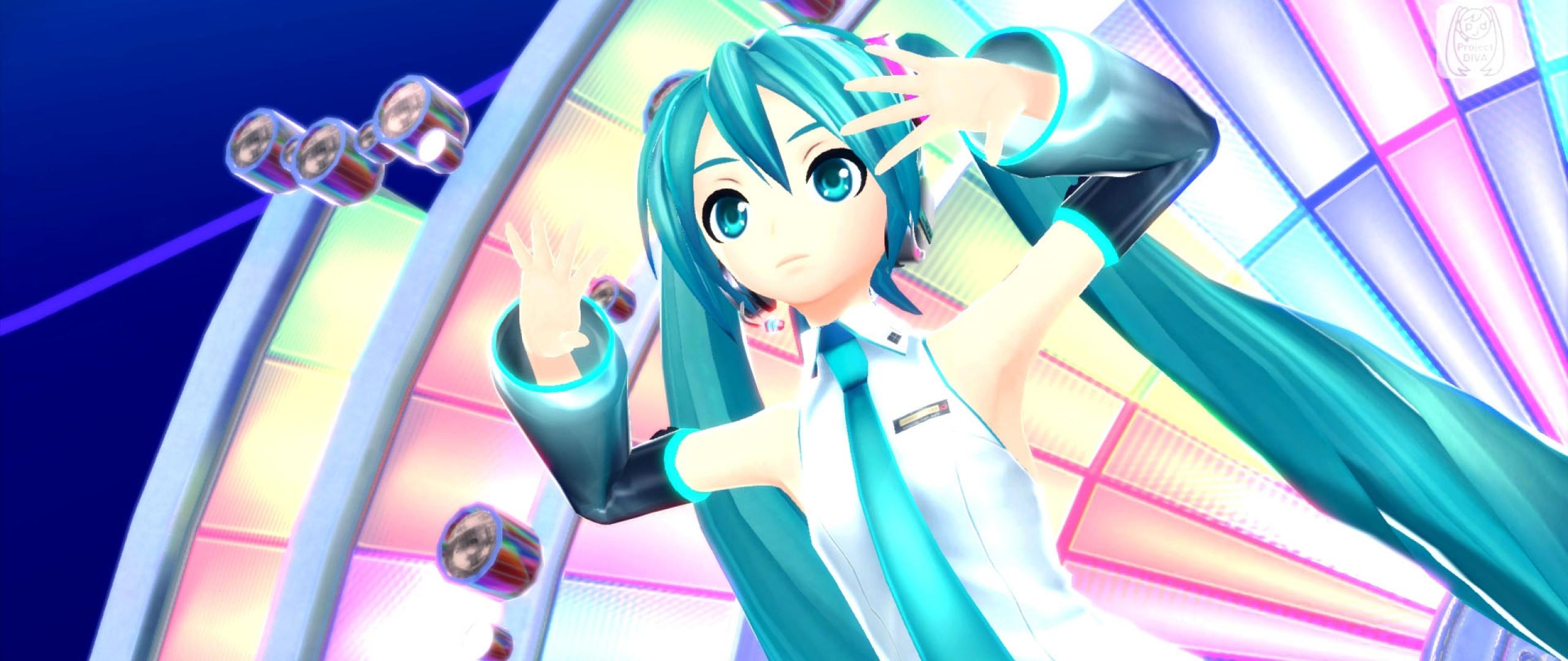 Download Wallpaper 2560x1080 hatsune miku project diva f 2nd hatsune 2560x1080