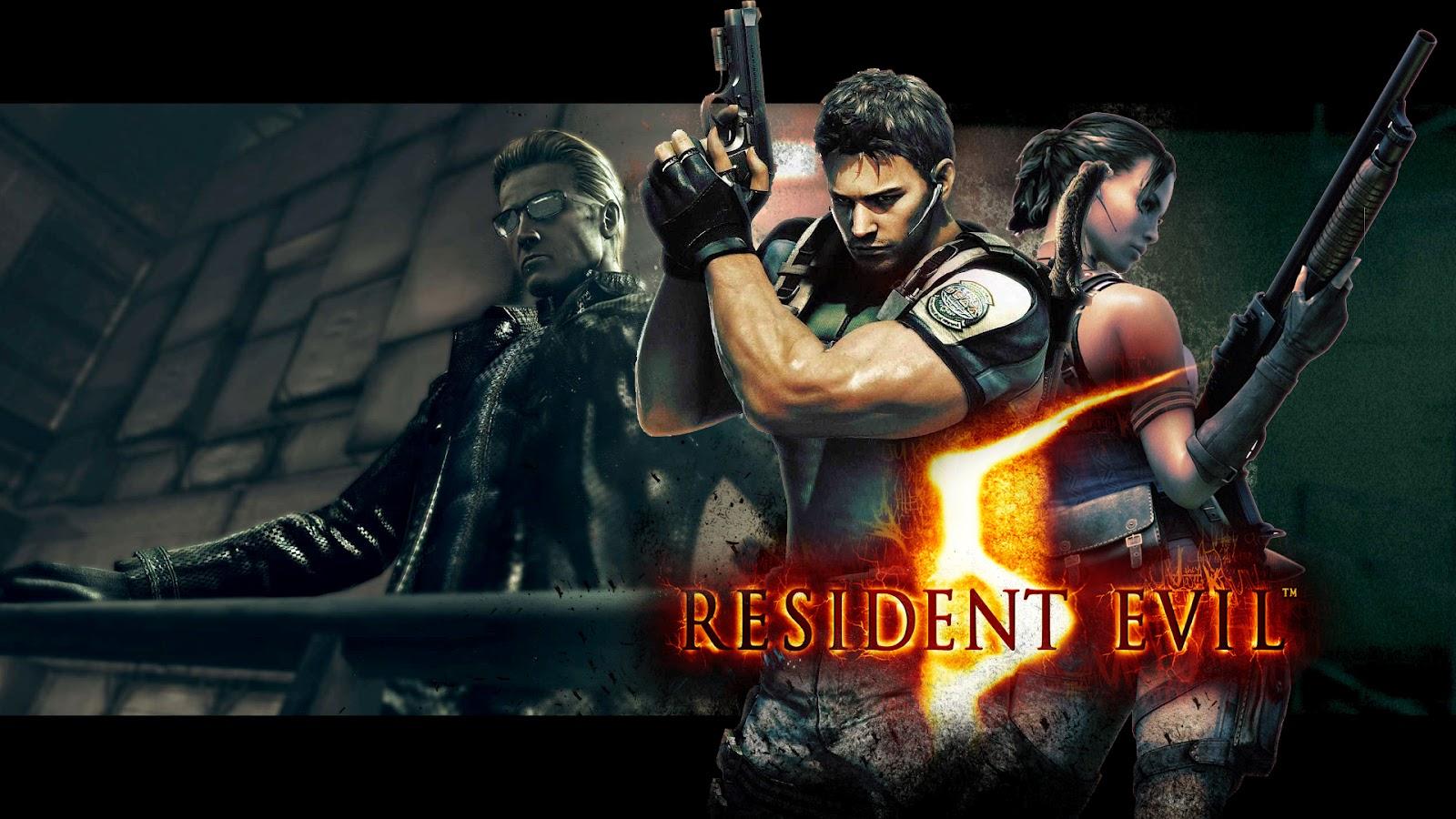 Resident evil wallpapers hd wallpapersafari - Wallpaper resident evil 5 ...