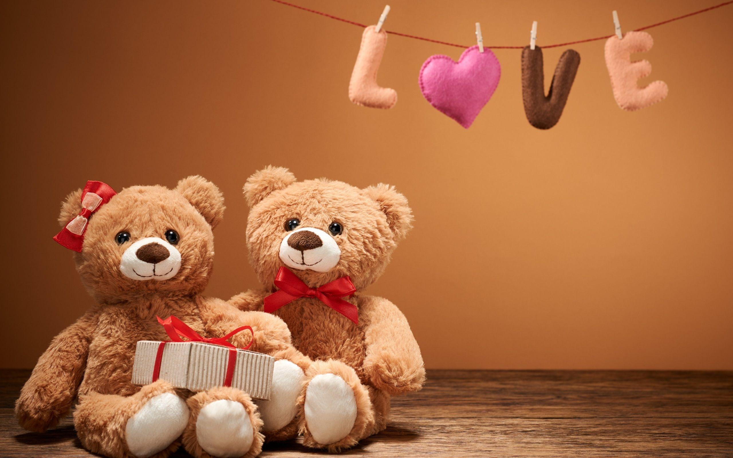 76 Teddy Bear Love Wallpaper On Wallpapersafari