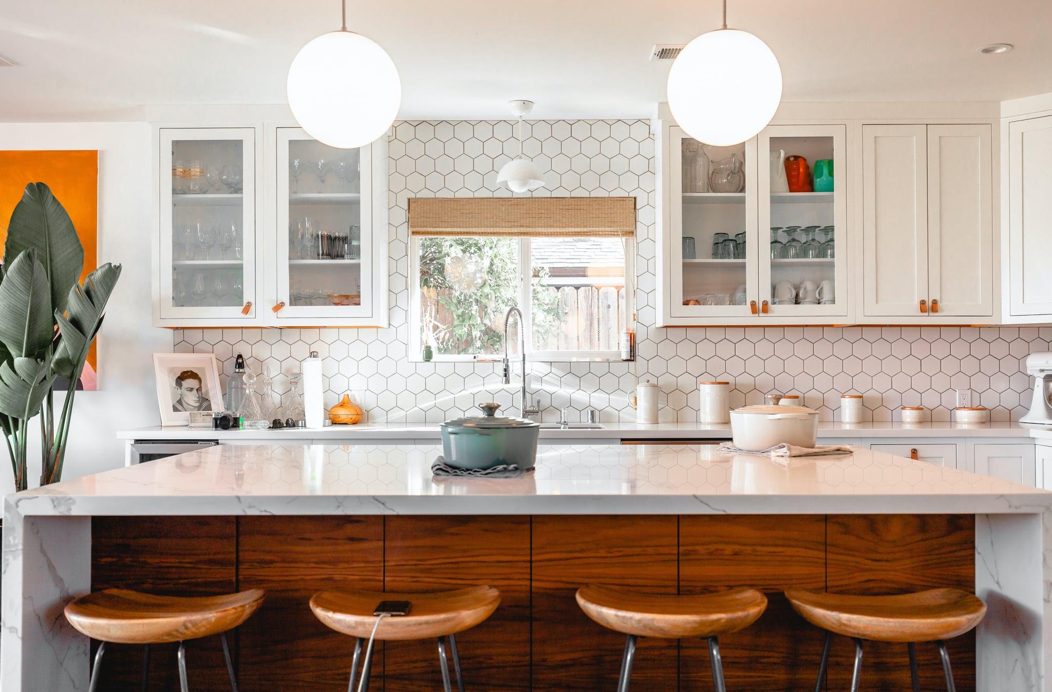 Modern Kitchen Zoom Background Transport Yourself to Hogwarts 2048x1349