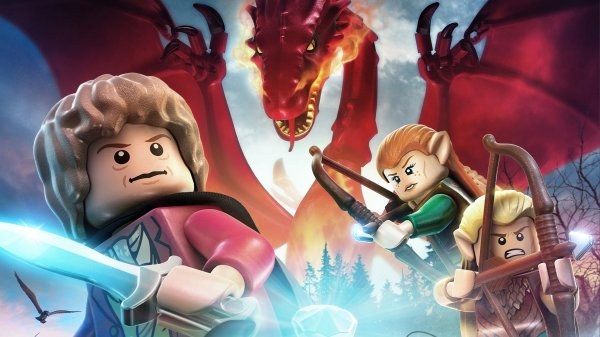 Wallpaper LEGO Le Hobbit 04 sur PS4 Xbox One WiiU PS3 PS Vita 3DS 600x337