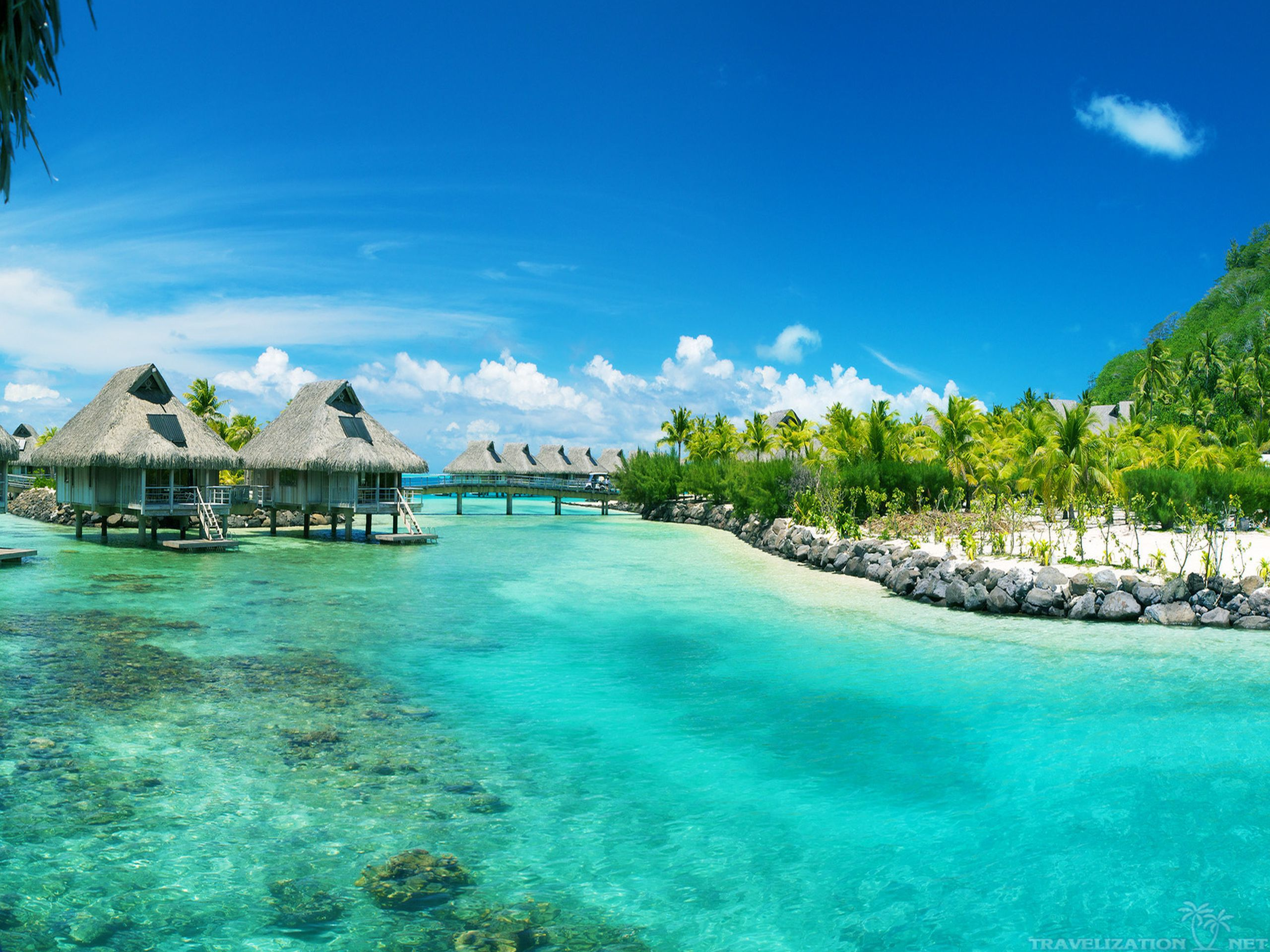 Bora Bora Pictures Wallpaper - WallpaperSafari