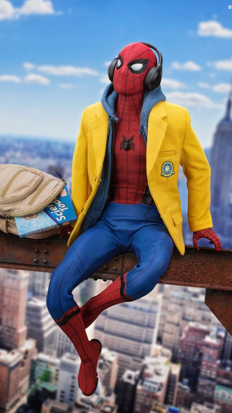 Top Spiderman Wallpapers   PS4 Homecoming Into the Spider Verse 768x1365