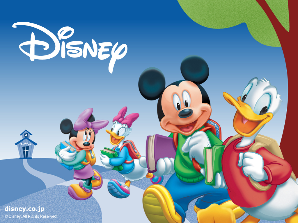Disney Cartoon Wallpaper Disney Mickey Amp Fr 1024x768