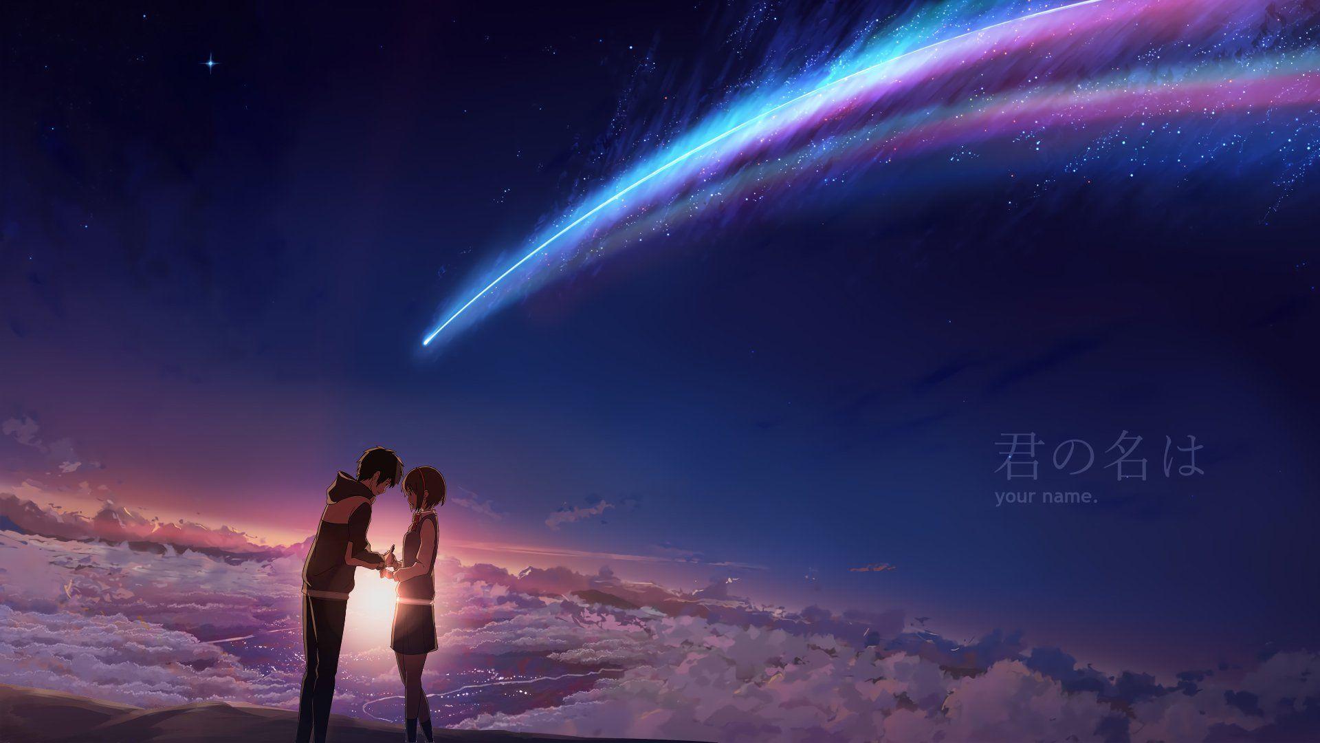 Anime Your Name Mitsuha Miyamizu Taki Tachibana Kimi No Na Wa 1920x1080