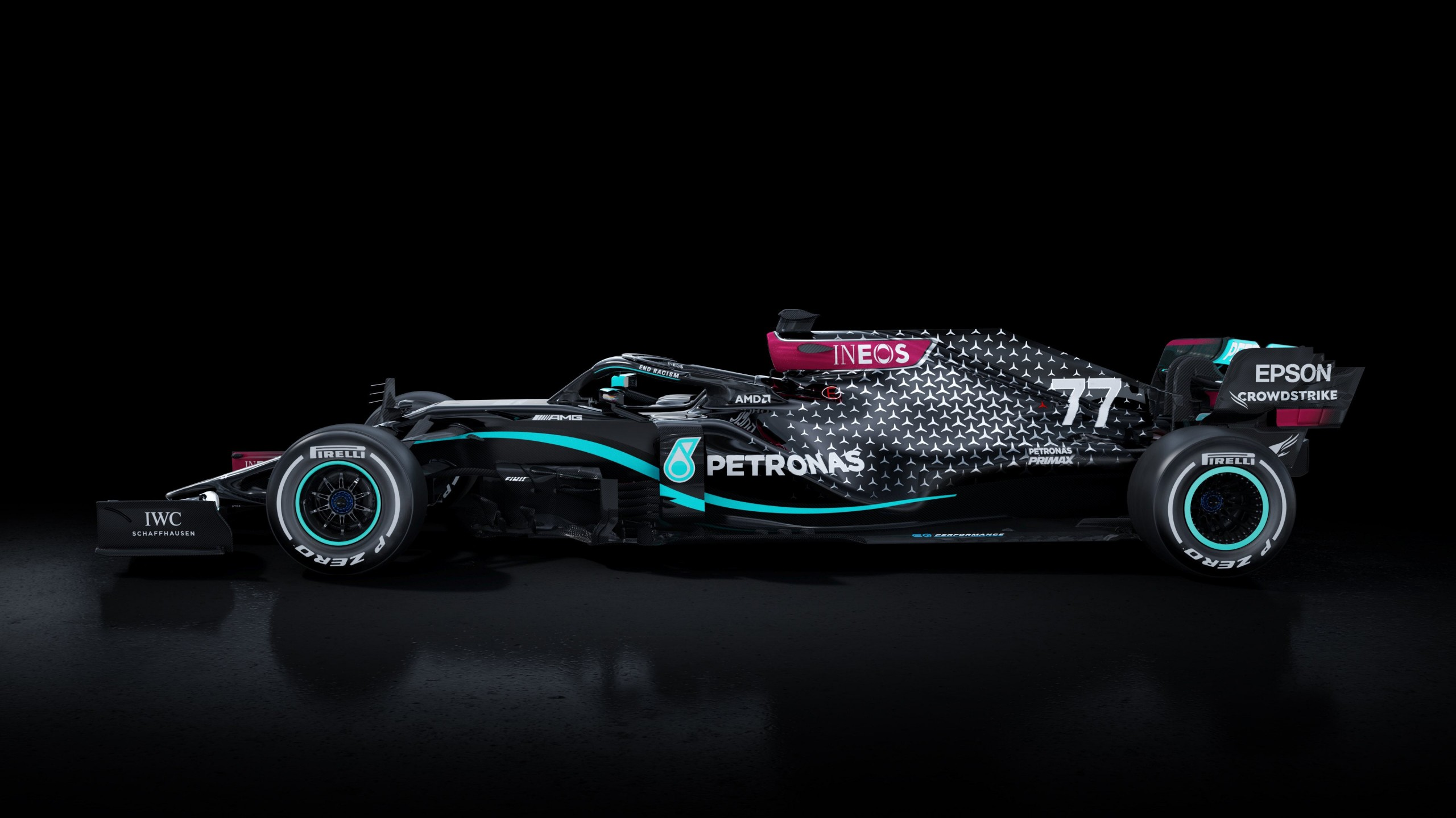 Mercedes AMG F1 W11 EQ Performance 2020 4K Wallpaper HD Car 2560x1440