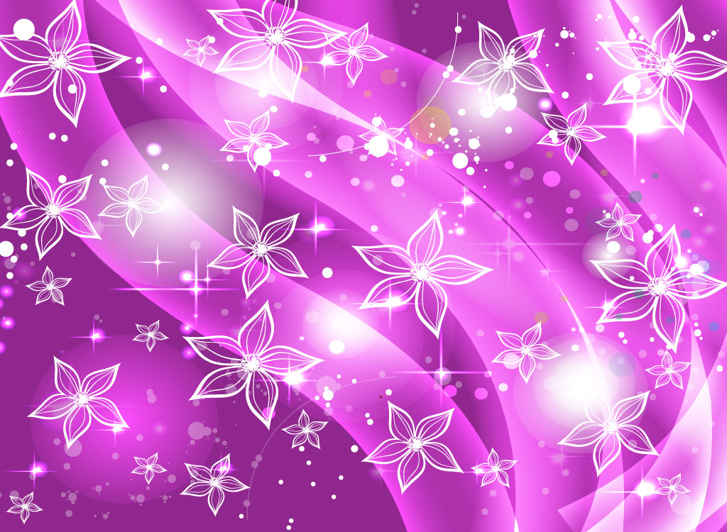 purple flowers background wallpapersafari