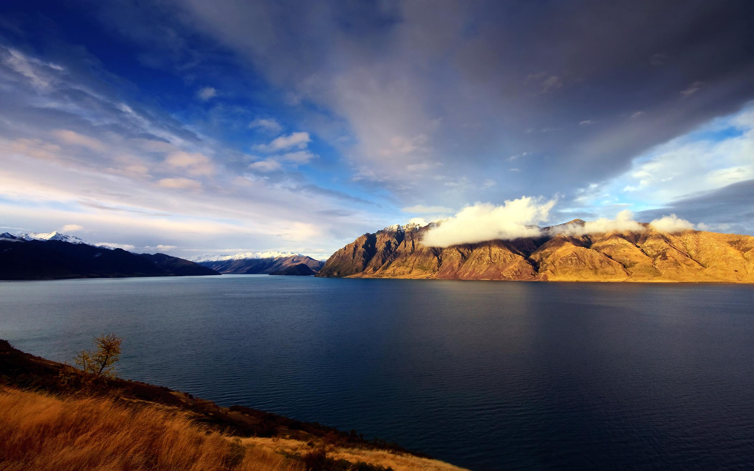 Lake Hawea New Zealand Wallpapers HD Wallpapers 2560x1600