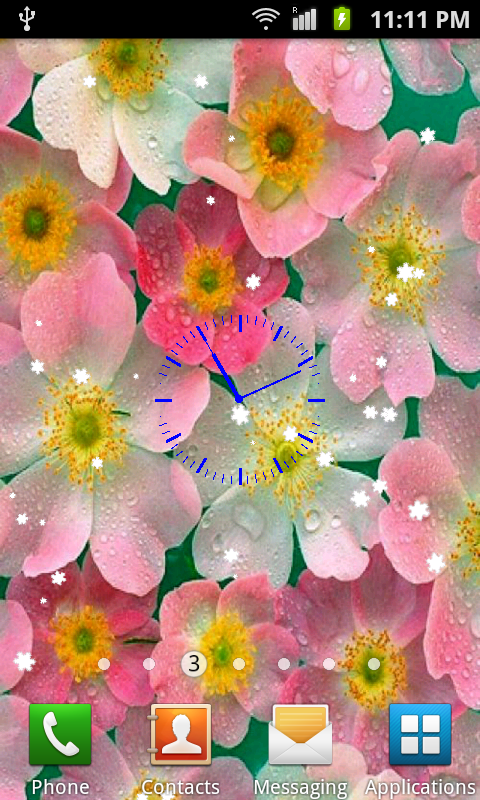 Flowers Live Wa 1mobilecom 480x800