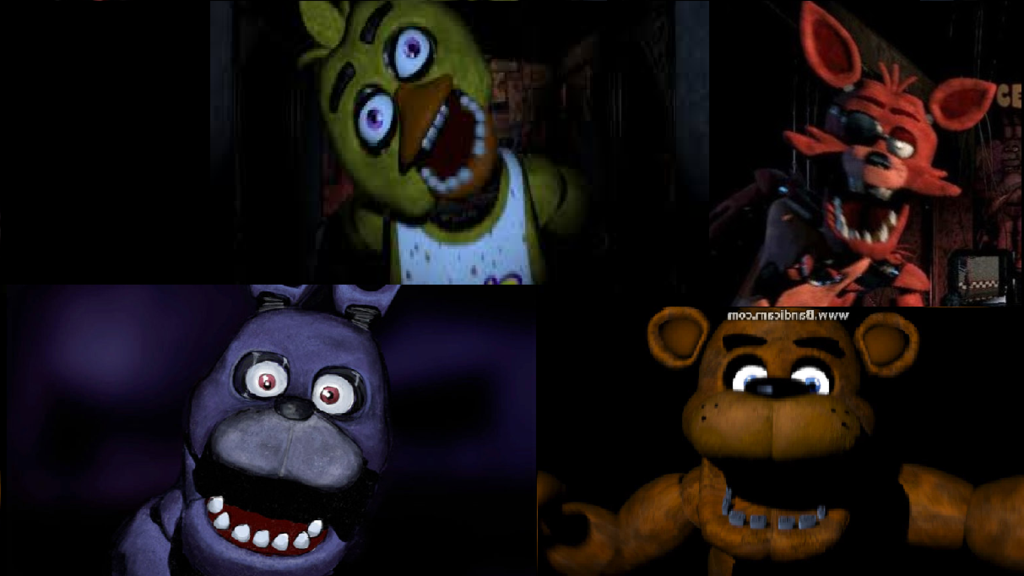 Fnaf Wallpaper by SonicLion92 1024x576