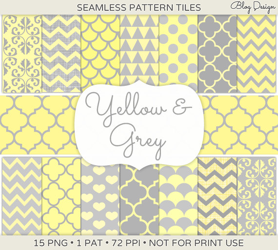 Yellow And Gray Chevron Background Yellow and grey blog 570x513