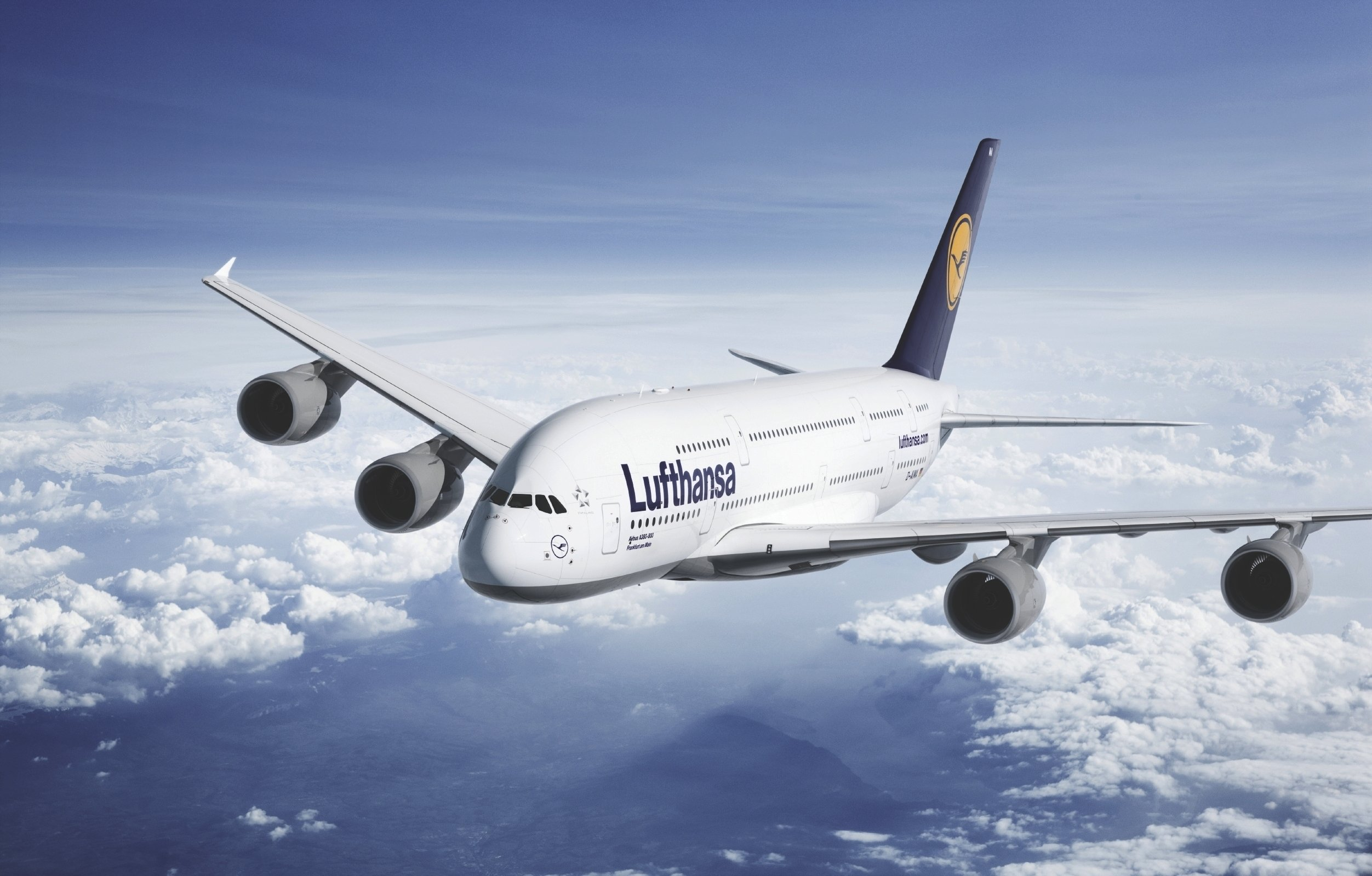 A380 Lufthansa 2504x1600 6107 HD Wallpaper Res 2504x1600 2504x1600
