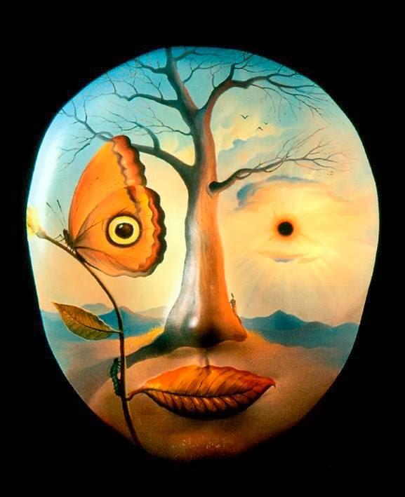 DREAM ZONE Vladimir Kush Paintings Wallpapers 577x709