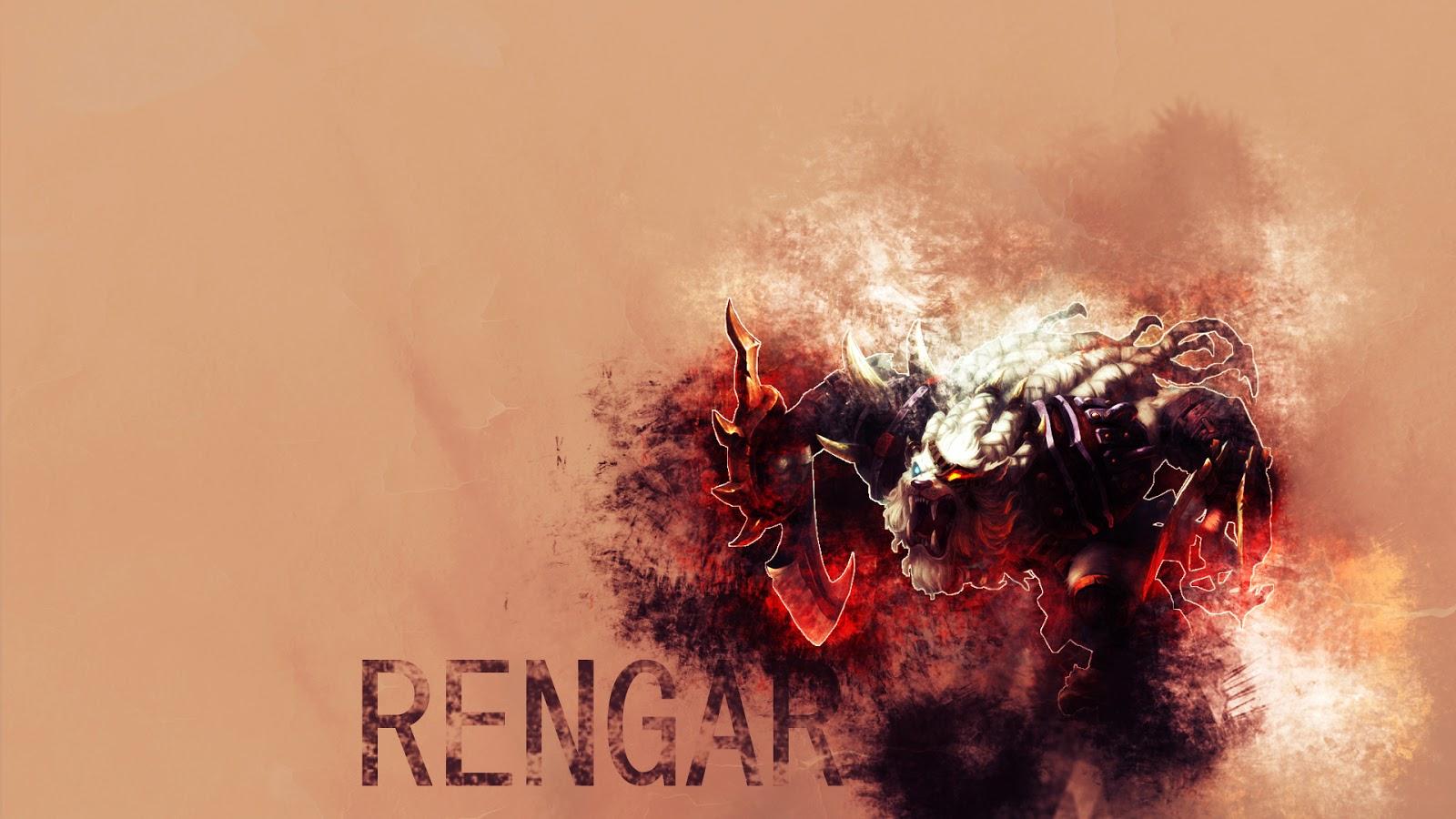 Rengar League of Legends Wallpaper Rengar Desktop Wallpaper 1600x900