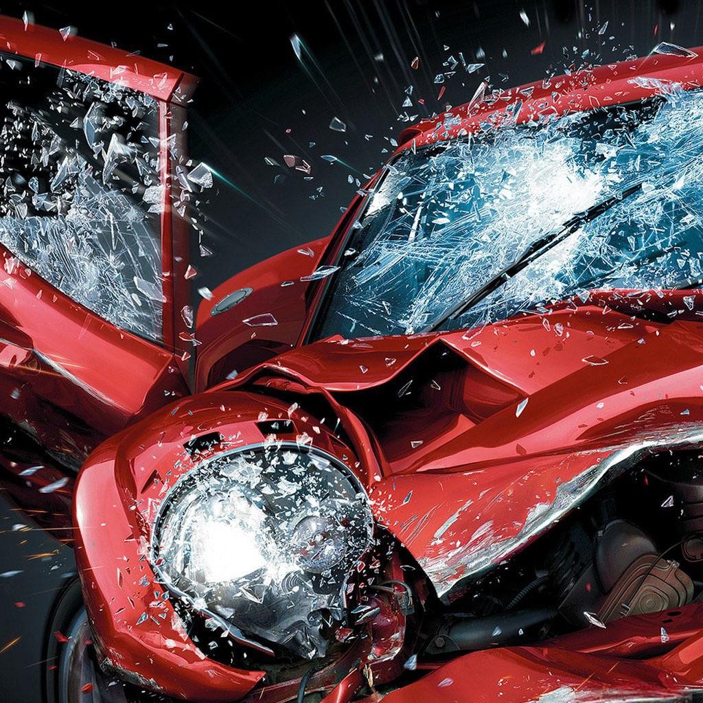Mini Car Wallpaper: Car Crash Wallpaper