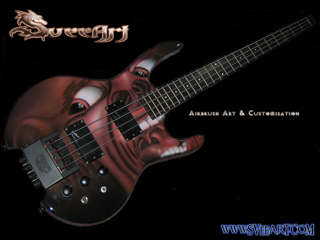 Awesome Bass Guitar Wallpaper Images Pictures   Becuo 1024x768