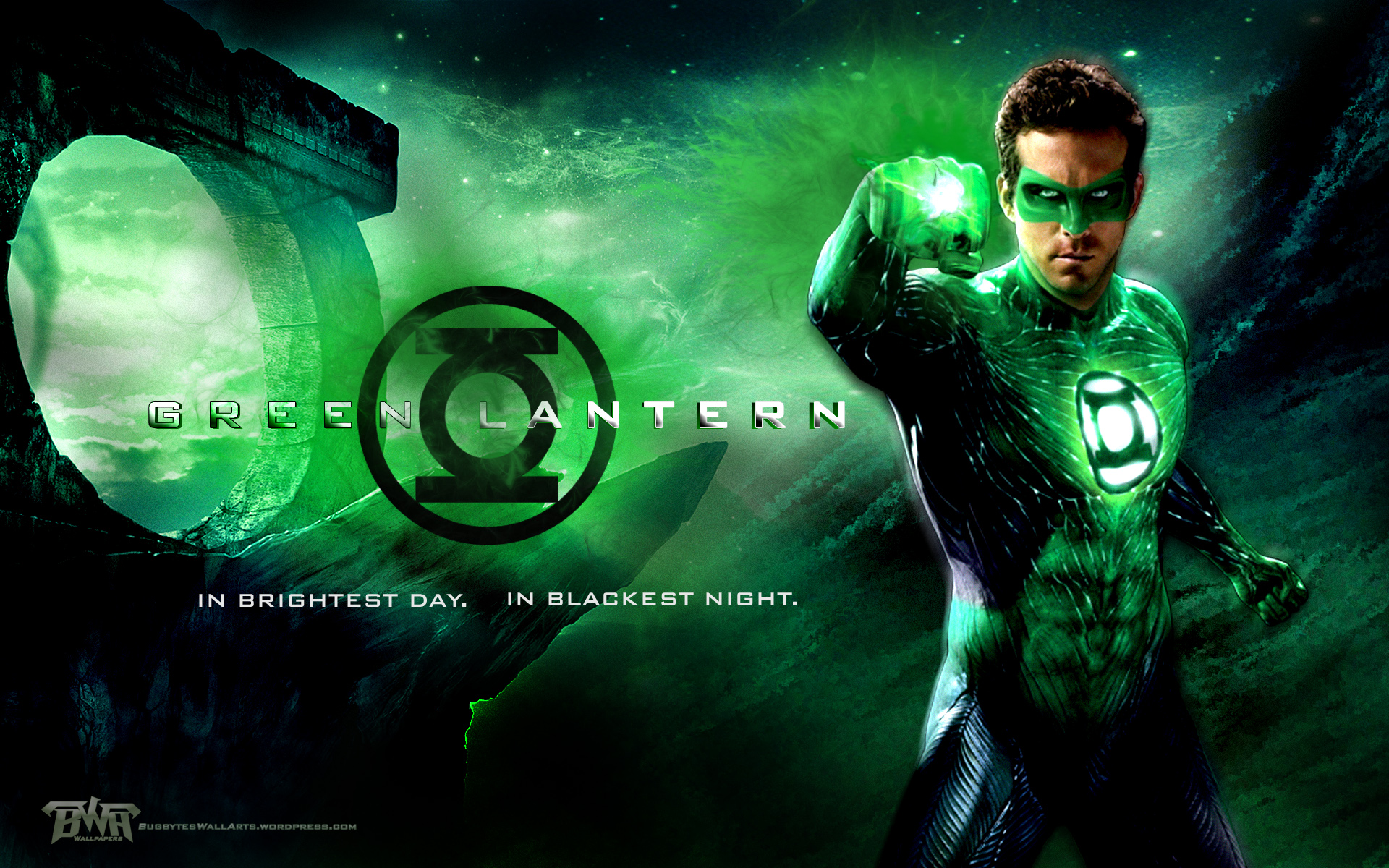 nice green lantern wallpaper for your desktop 1920x1200