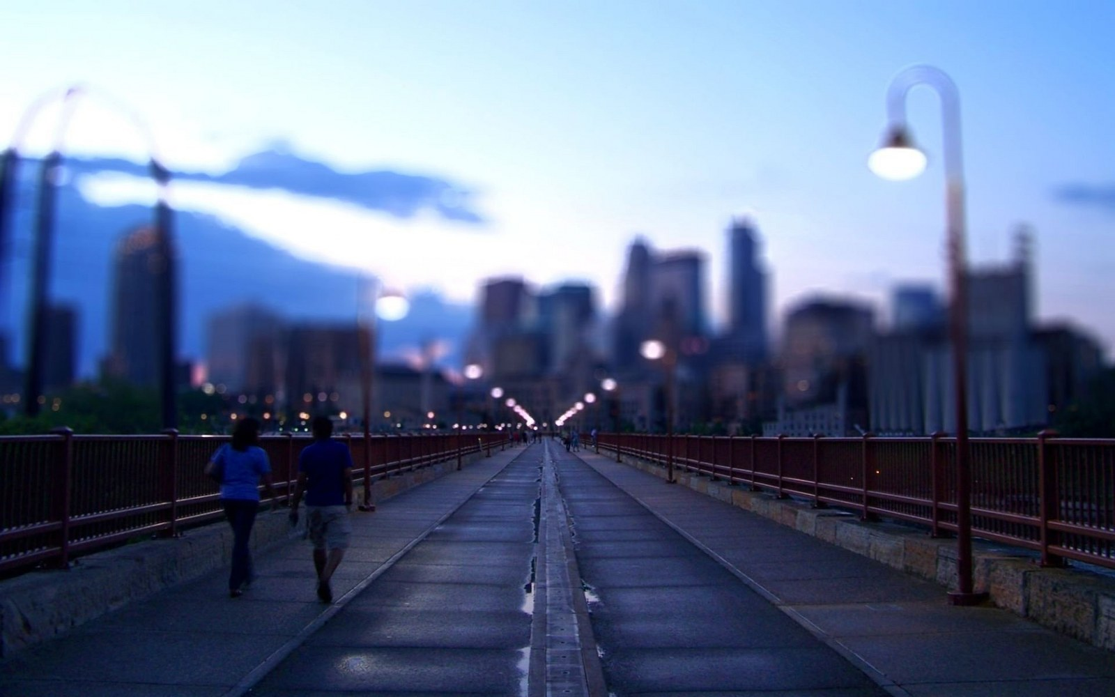 Bridge At City Town View wallpapers55com   Best Wallpapers for PCs 1600x1000