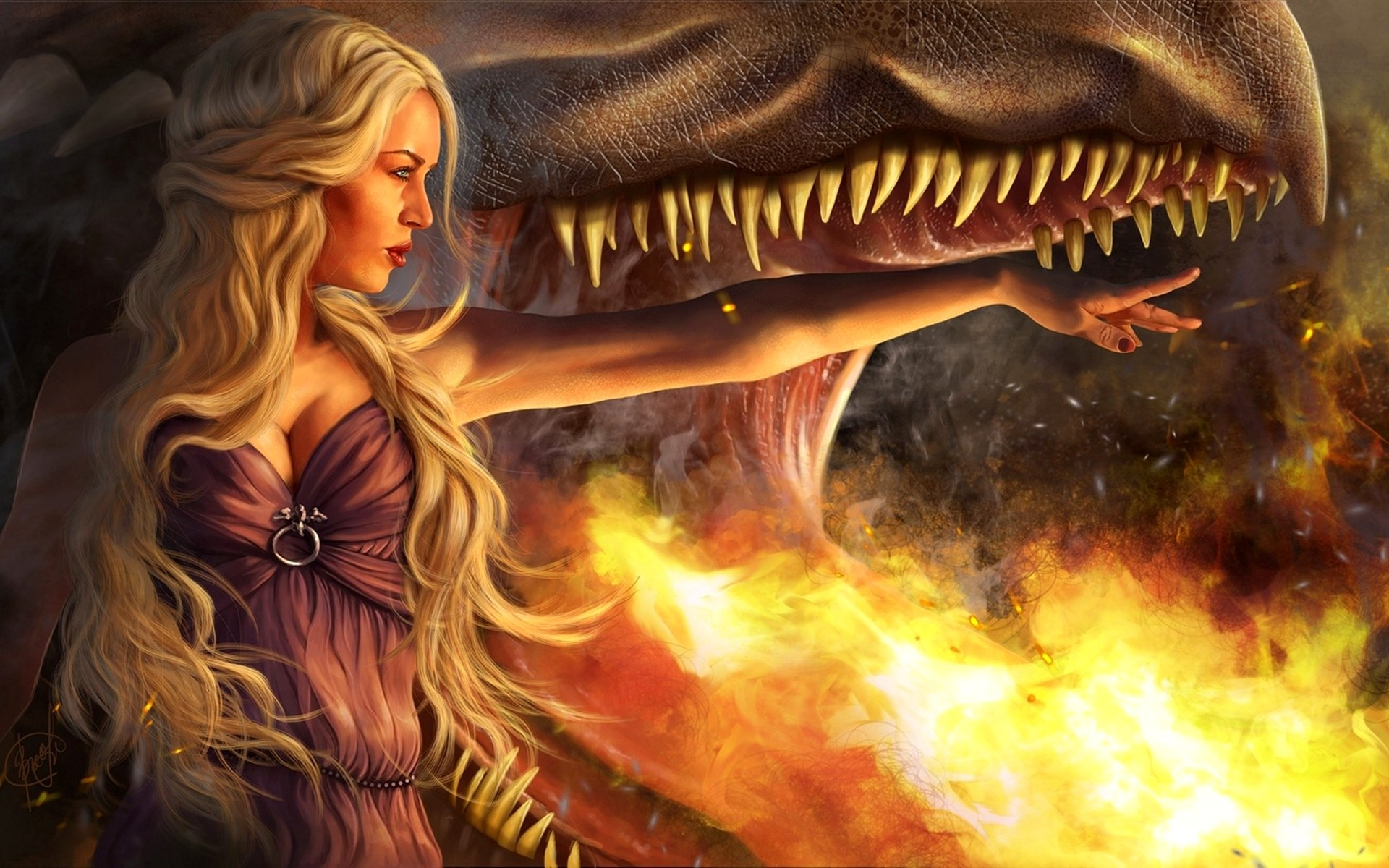 Game Of Thrones Dragon wallpapers55com   Best Wallpapers for PCs 1920x1200