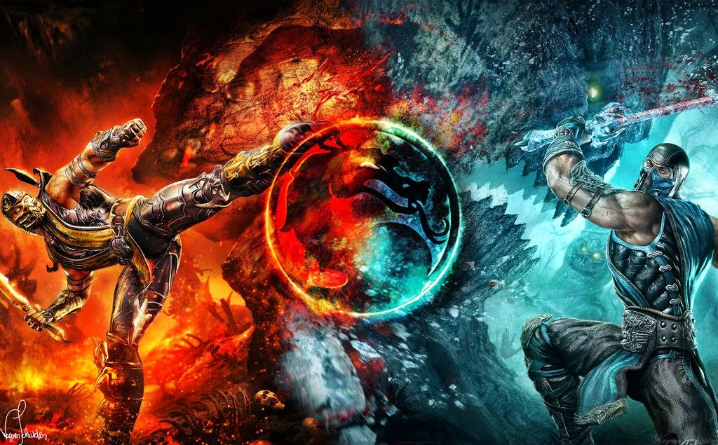 Mortal Kombat 9 - Kratos vs Sub Zero - YouTube