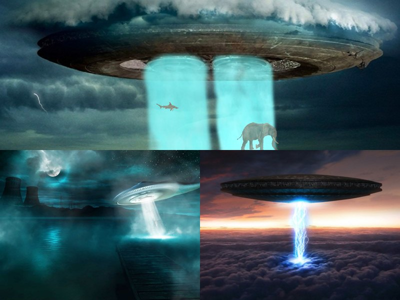 UFO Animated Wallpaper