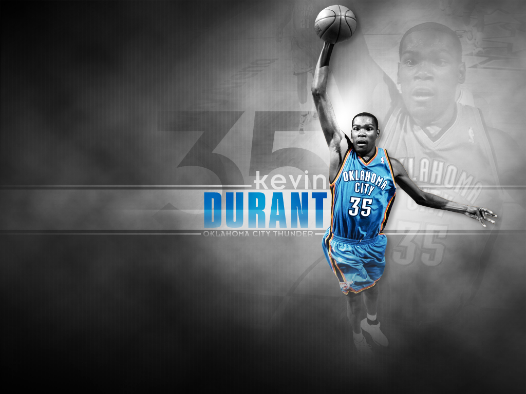 Kevin Durant Dunk HD Wallpaper Sports Wallpapers 1024x768