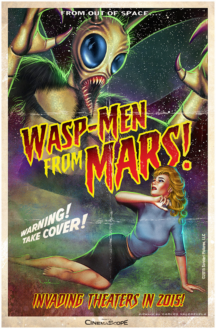 Wasp Men From Mars by Valzonline 721x1100