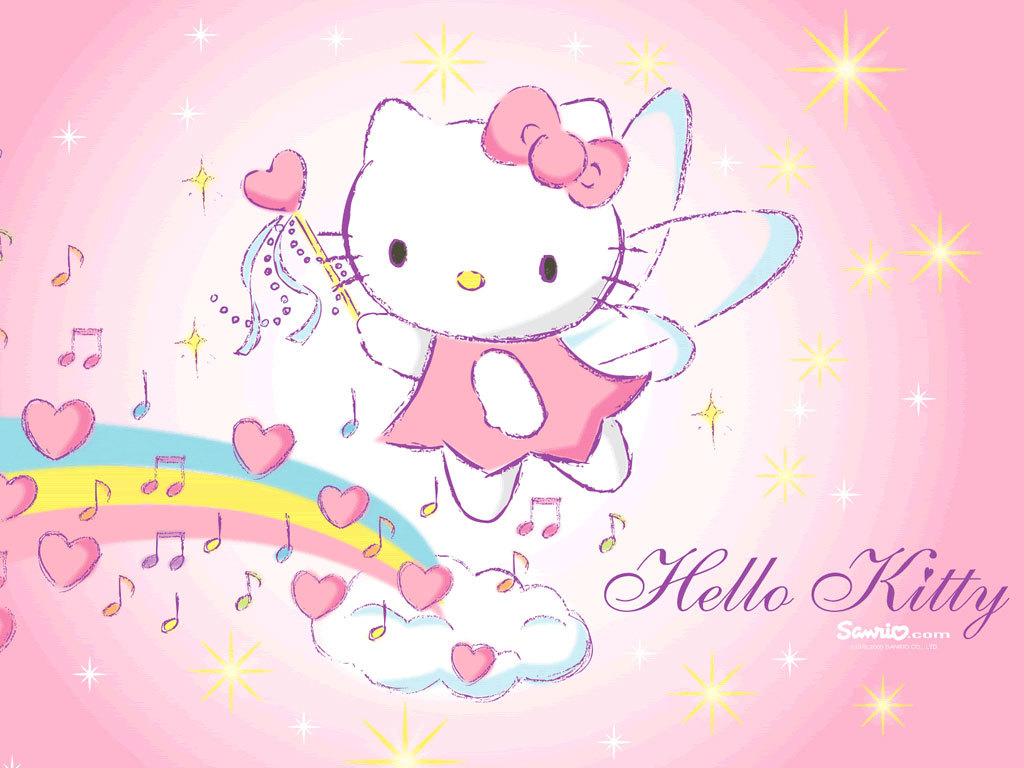 76 Pink Hello Kitty Wallpaper On Wallpapersafari