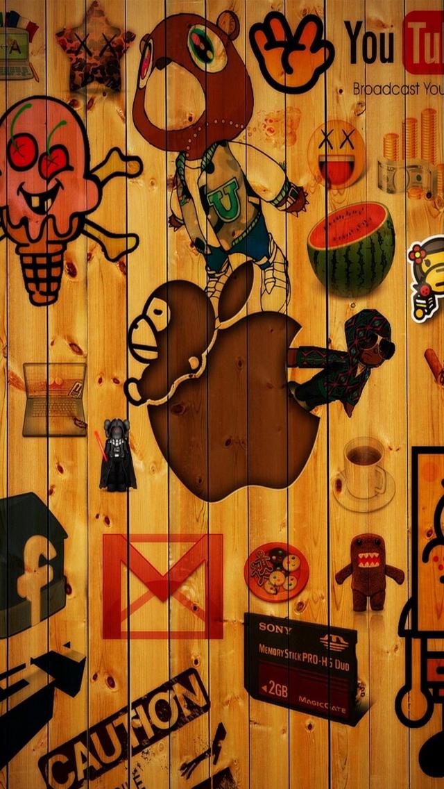 epic logos iPhone 5 Wallpaper Background 640x1136 Photo Image 640x1136