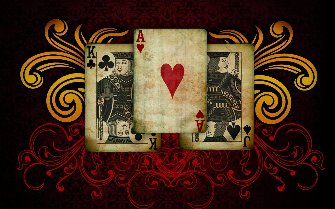 Poker Cards Wallpaper Wallpapersafari