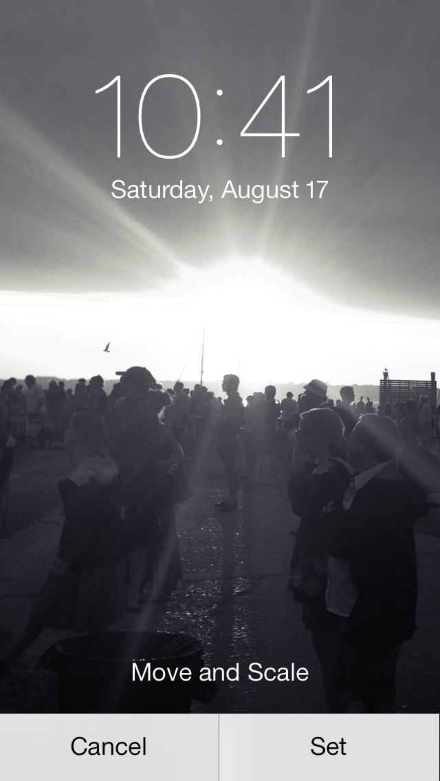 How to Change iPhone Wallpaper 640x1136