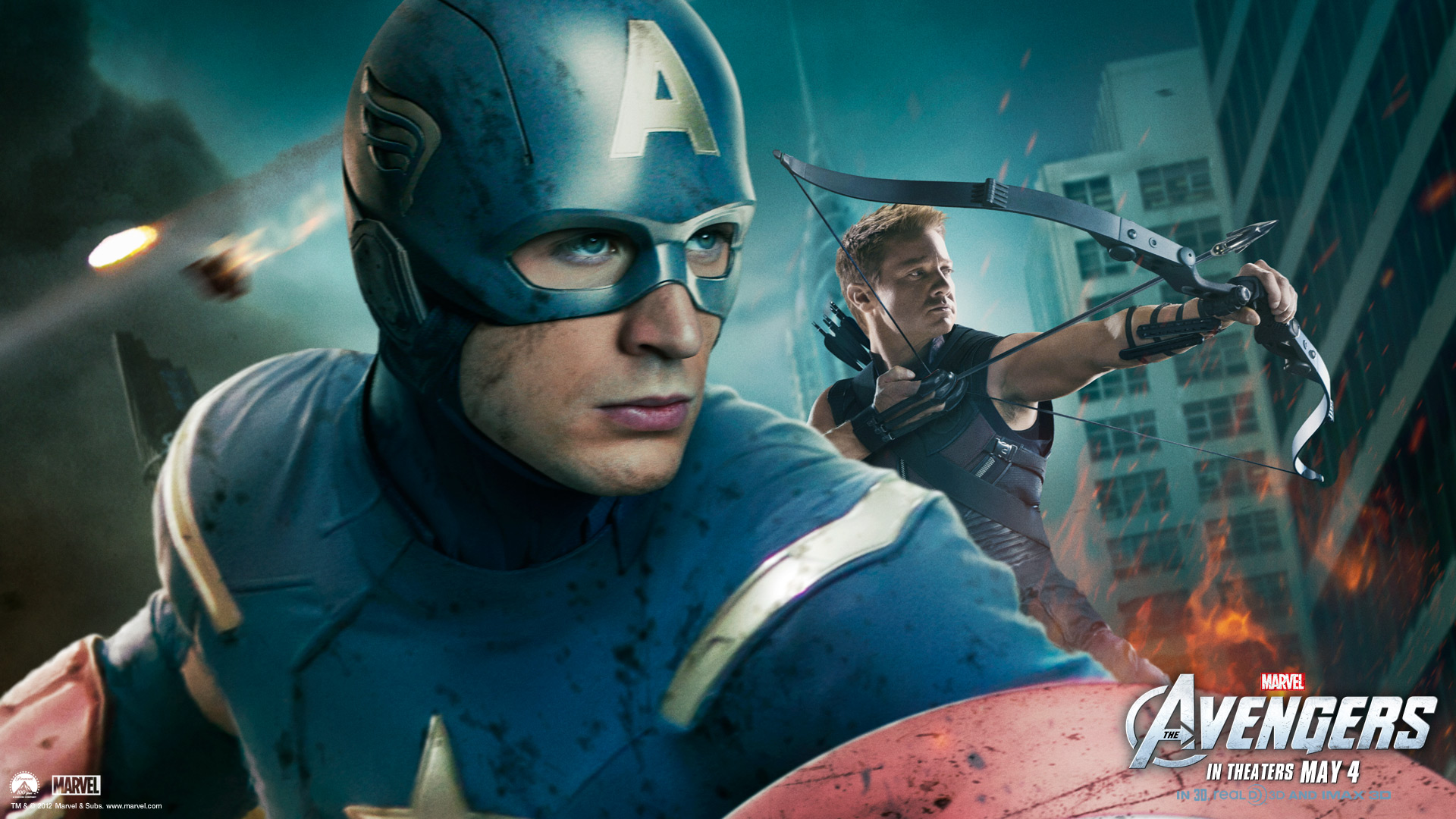 The Avengers Captain America HD Wallpapers 1920x1080