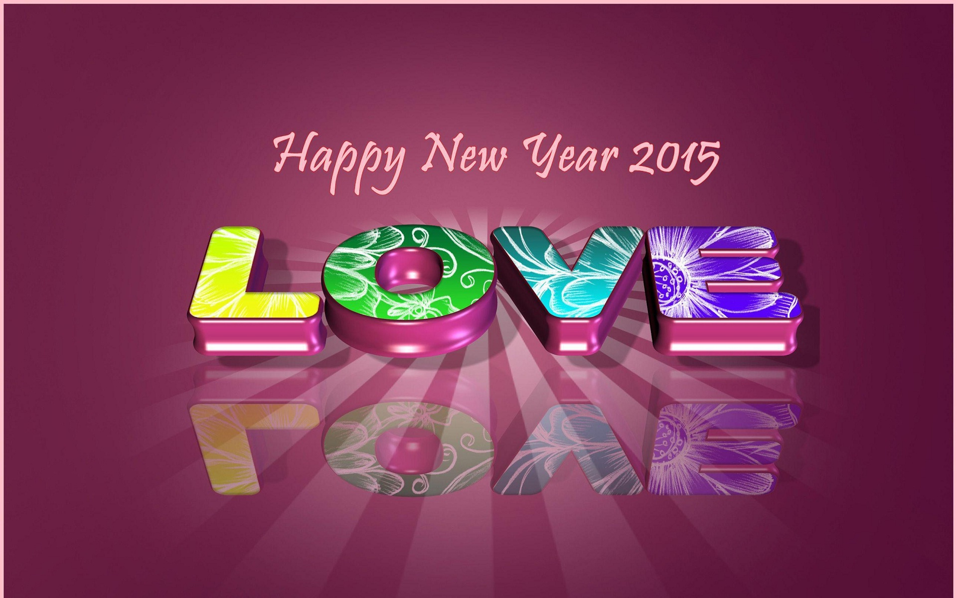 Happy New Year 2015 Love wallpaper   New hd wallpaperNew 1920x1200