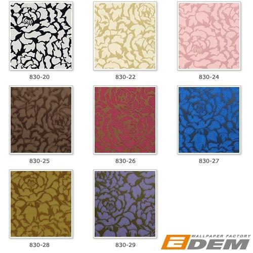 Luxury tone on tone wallpaper wall EDEM 830 28 deluxe deep embossed 500x500