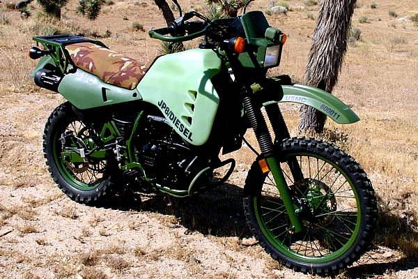 Download M1030M1 JP8 Diesel Military Motorcycle Wallpaper 600x400