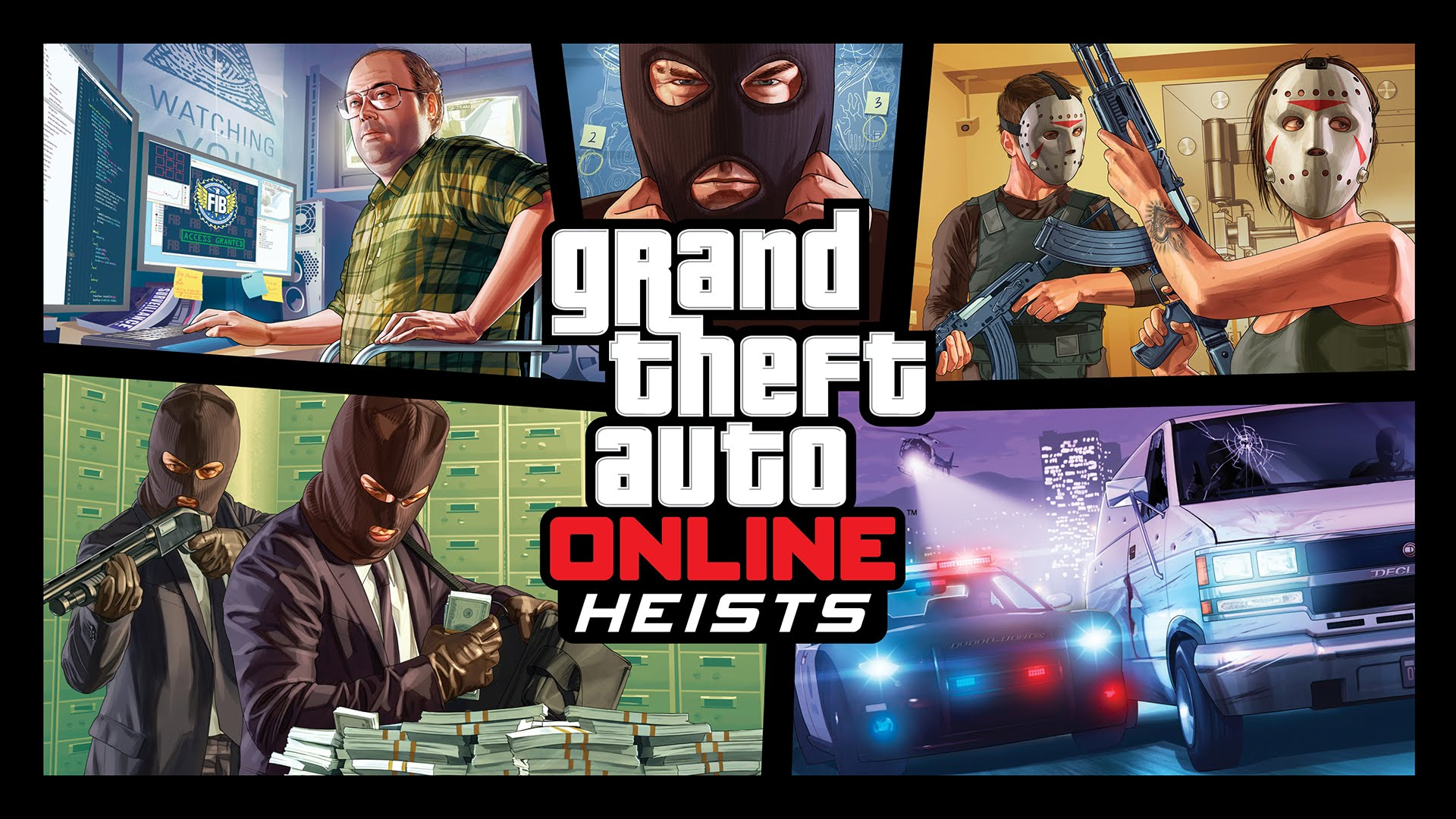 GTA Online Heists Revealed With Screenshots and New Trailer for PC and 1920x1080