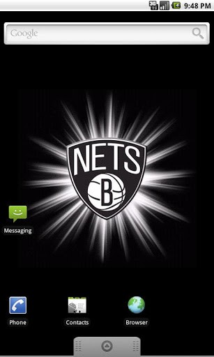 View bigger   Brooklyn Nets Live Wallpaper for Android screenshot 307x512