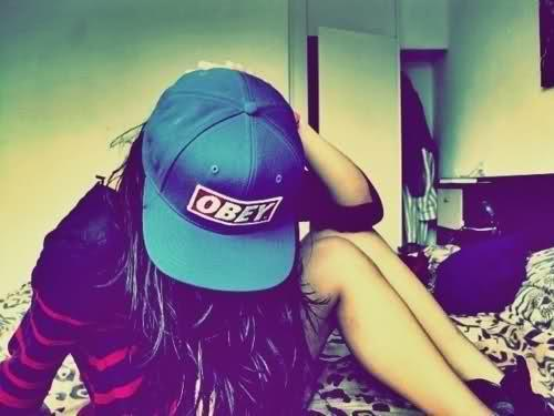 obey swag pretty teenager tumblr Girl swag girlsswagg girlgirls 500x375