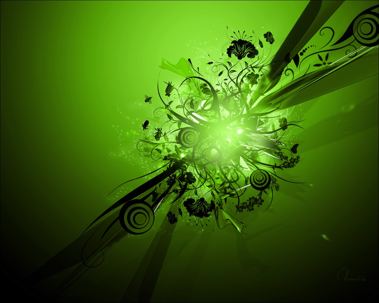 Best Green wallpaper HDComputer Wallpaper Wallpaper Downloads 1280x1024