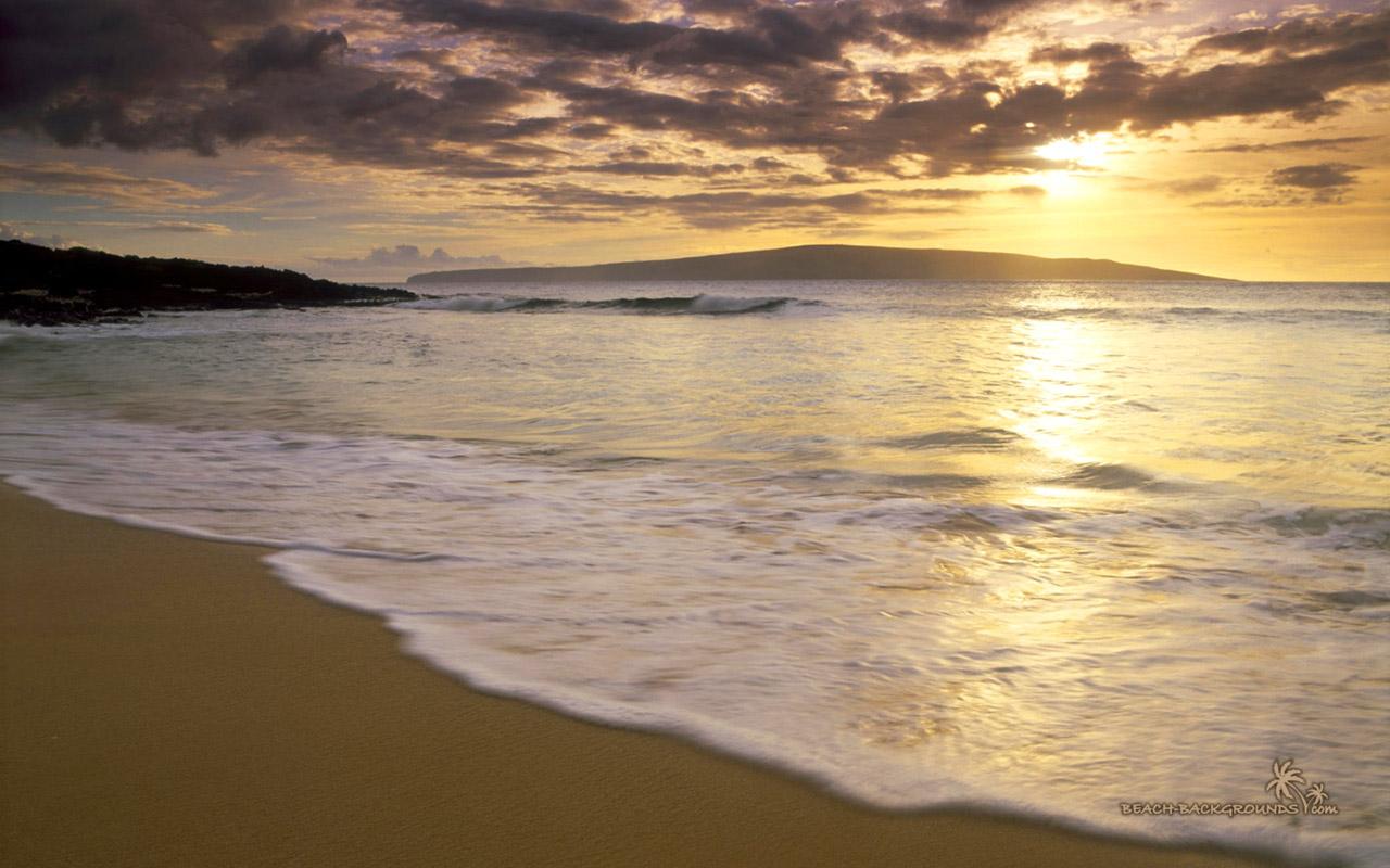 imagescicombeautiful beach sunset wallpaper 9718 hd wallpapershtml 1280x800