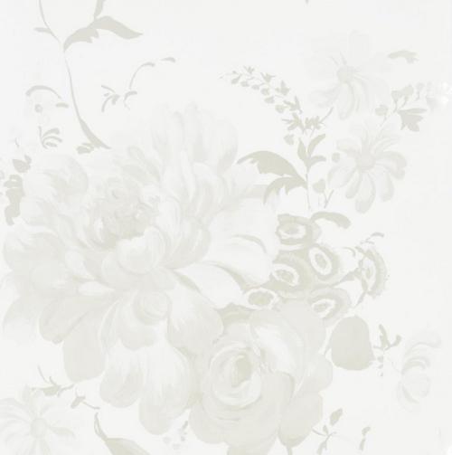 Clapp chose Designers Guild Mehsama wallpaper a dramatically 500x503