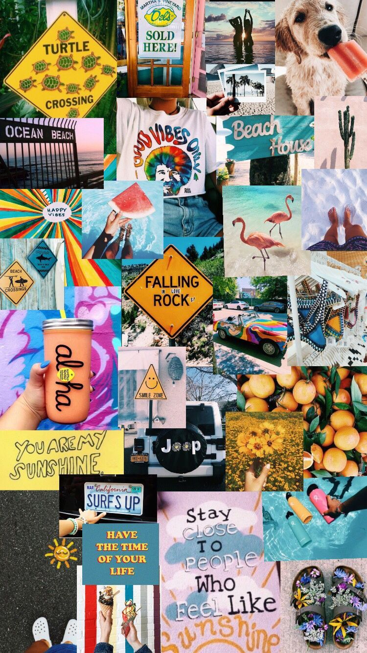 VSCO Collage Wallpapers   Top VSCO Collage Backgrounds 750x1334