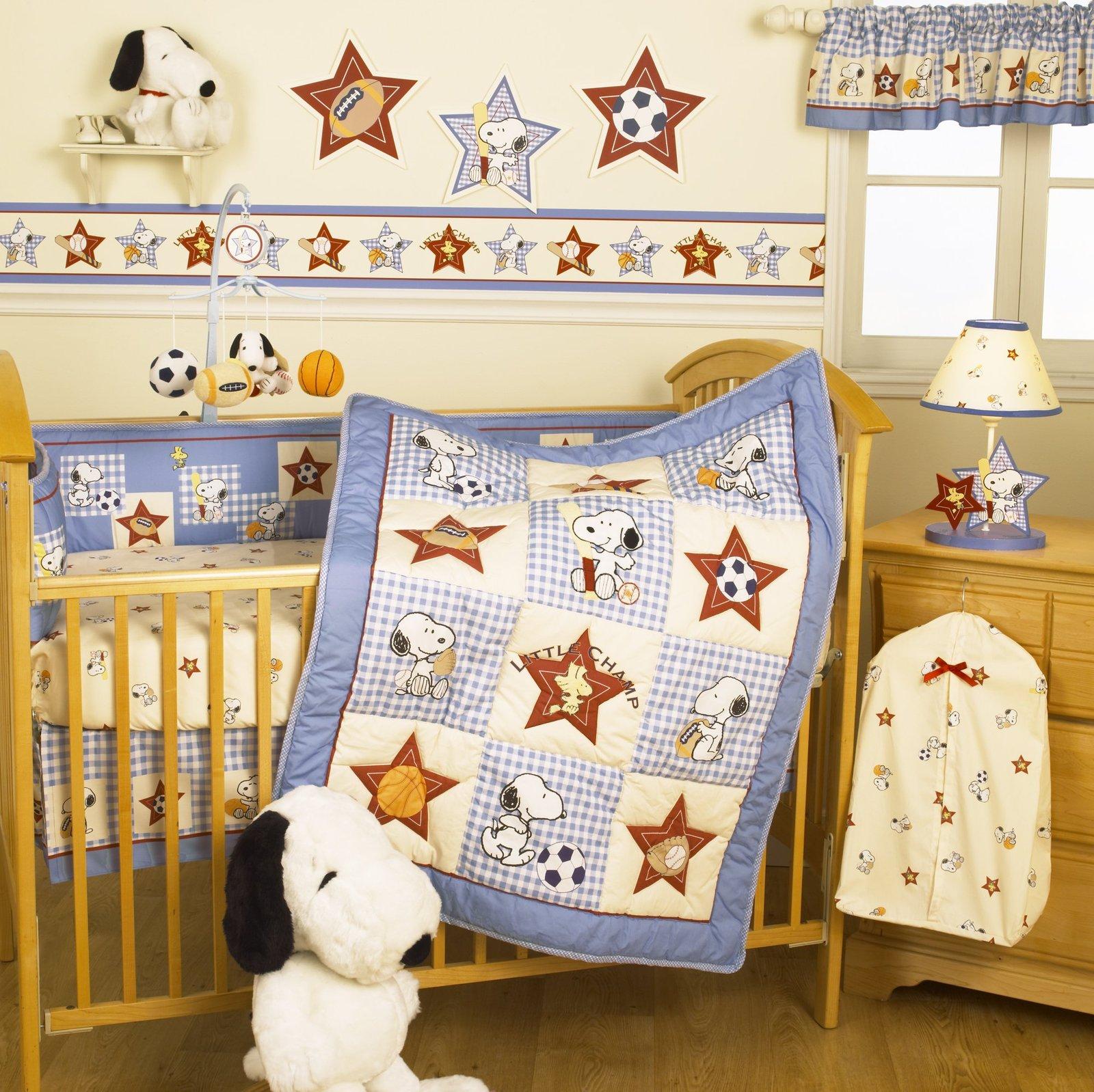 Bedtime Originals Champ Snoopy Wallpaper Border   Best Price 1600x1598
